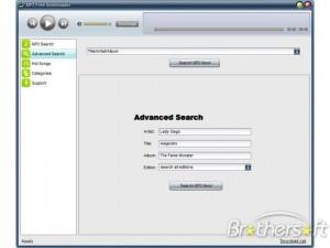 โปรแกรมโหลดเพลงฟรี-MP3-Free-Downloader-2.9-300x225